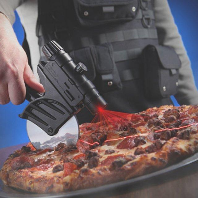 Cortador de pizza a laser