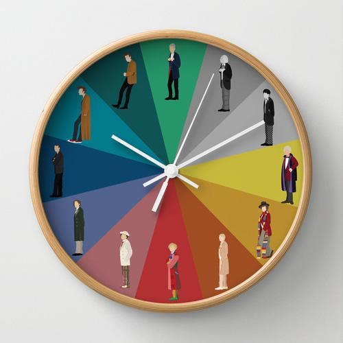 Relógio Doctor Who