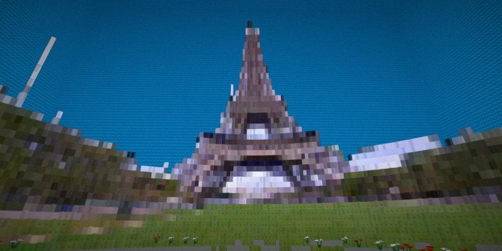 BrickStreetView-EiffelTower-Bricked