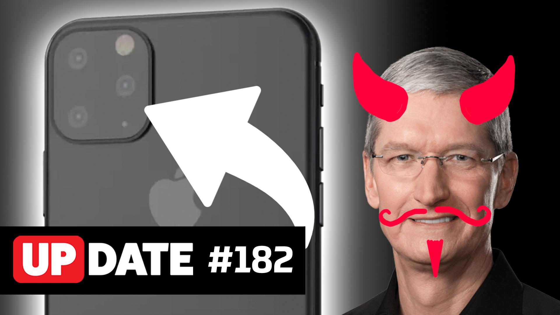 Update #182 – Rumores do iPhone 11