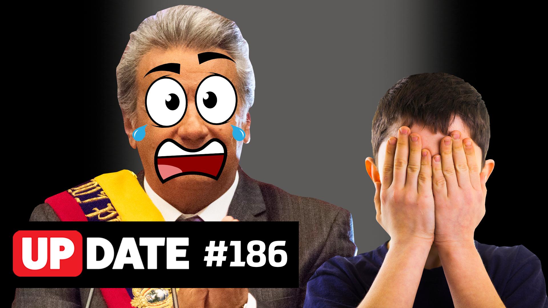 Update #186 – O Equador caiu na net