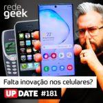Update – Falta inovação nos celulares?
