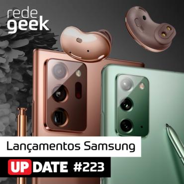 Update 223 – Lançamentos Samsung