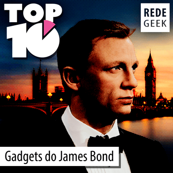 TOP 10 - Gadgets do James Bond