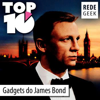 TOP 10 - Gadgets do James Bond