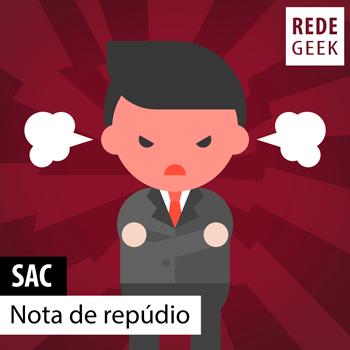 SAC - Nota de repúdio