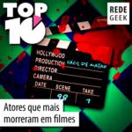 TOP 10 – Atores que mais morreram em filmes