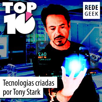 TOP 10 - Tecnologias criadas por Tony Stark