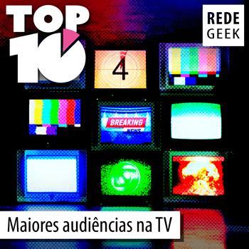 TOP 10 - Maiores audiências na TV