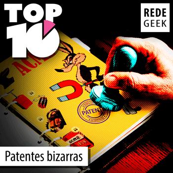 TOP 10 - Patentes bizarras