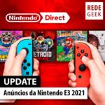 Anúncios da Nintendo E3 2021