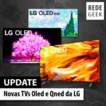 Novas TVs Oled e Qned da LG