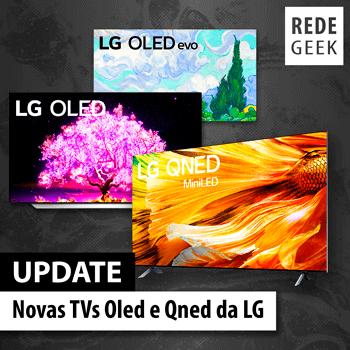 UPDATE - Novas TVs Oled e Qned da LG