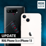 ROG Phone 5s e iPhone 13